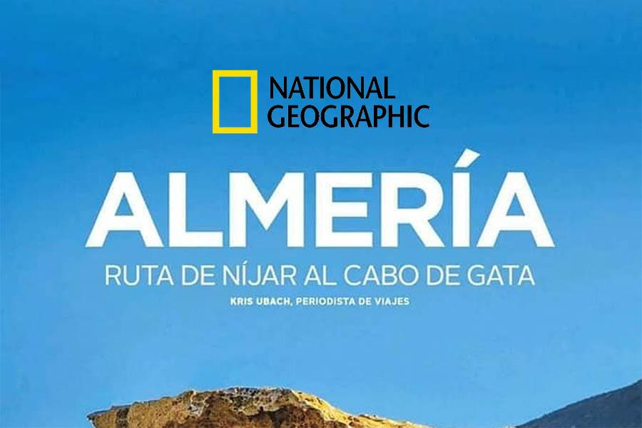 Cabo de Gata- Níjar, portada en la revista National Geographic